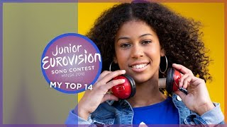 Junior Eurovision 2018 | My Top 14 [so far] 🇦🇺 🇬🇪 🇮🇱 🇮🇹 🇷🇸 🏴󠁧󠁢󠁷󠁬󠁳󠁿