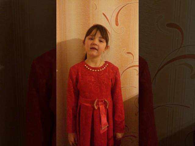 Изображение предпросмотра прочтения – КристинаГаврилина читает произведение «Молитва (В минуту жизни трудную…)» М.Ю.Лермонтова