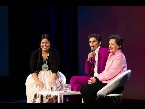 Tara Houska and Christiana Figueres | Opening Plenary | SkollWF 2018