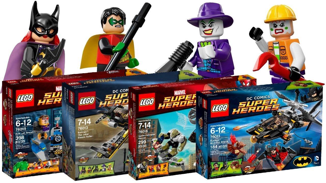 Lego Batman Sets 2014: Lego Superheroes 2014 Winter/Spring Sets Revealed! (HD