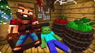 видео: Хижина охотника [ЧАСТЬ 26] Зомби апокалипсис в майнкрафт! - (Minecraft - Сериал)
