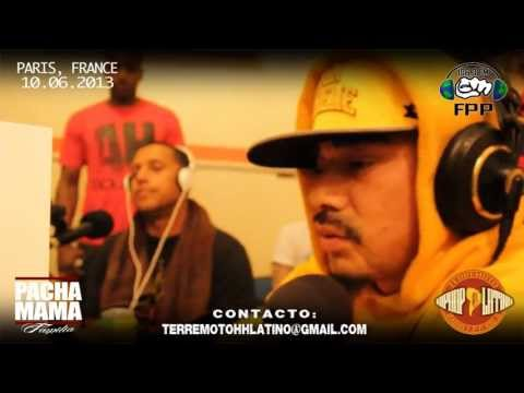 RADIO TERREMOTO HIPHOP LATINO (Paris,Fr) // SPECIAL CRACK FAMILY CAPITULO 8 - 10.06.2013