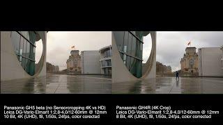 Panasonic GH5 10 Bit 4K vs GH4 8 Bit, Focus Transition, Lowlight a.o.