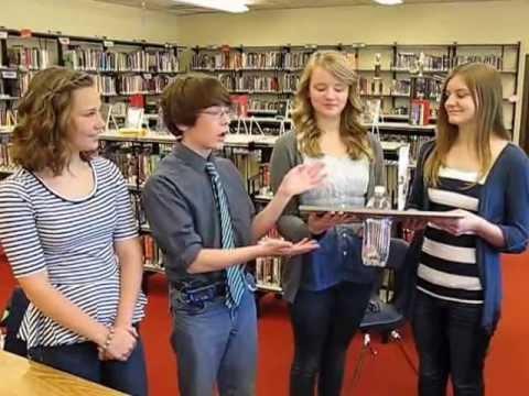 Memorial Park Middle School's The Bright Idea team