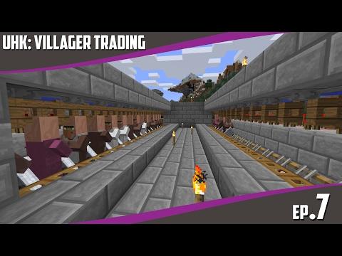Underholdningskontoret - Episode 07 - Villager Trading (Norsk Minecraft)