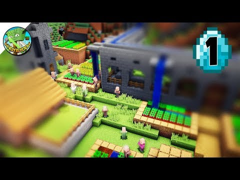 Transform a Minecraft Village into a Town E01 - HYDRO DAM