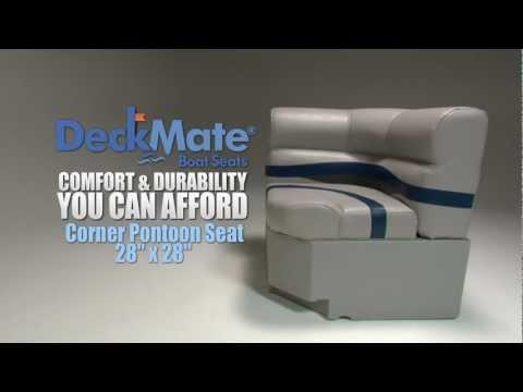 DeckMate Corner Pontoon Boat Seats