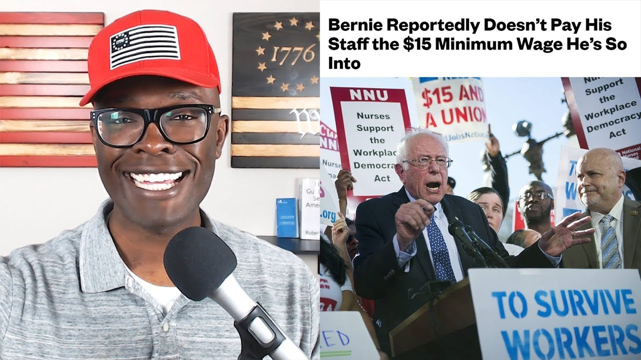 ABL Sanders Doesn't Pay His OWN Staff $15 Per Hour!