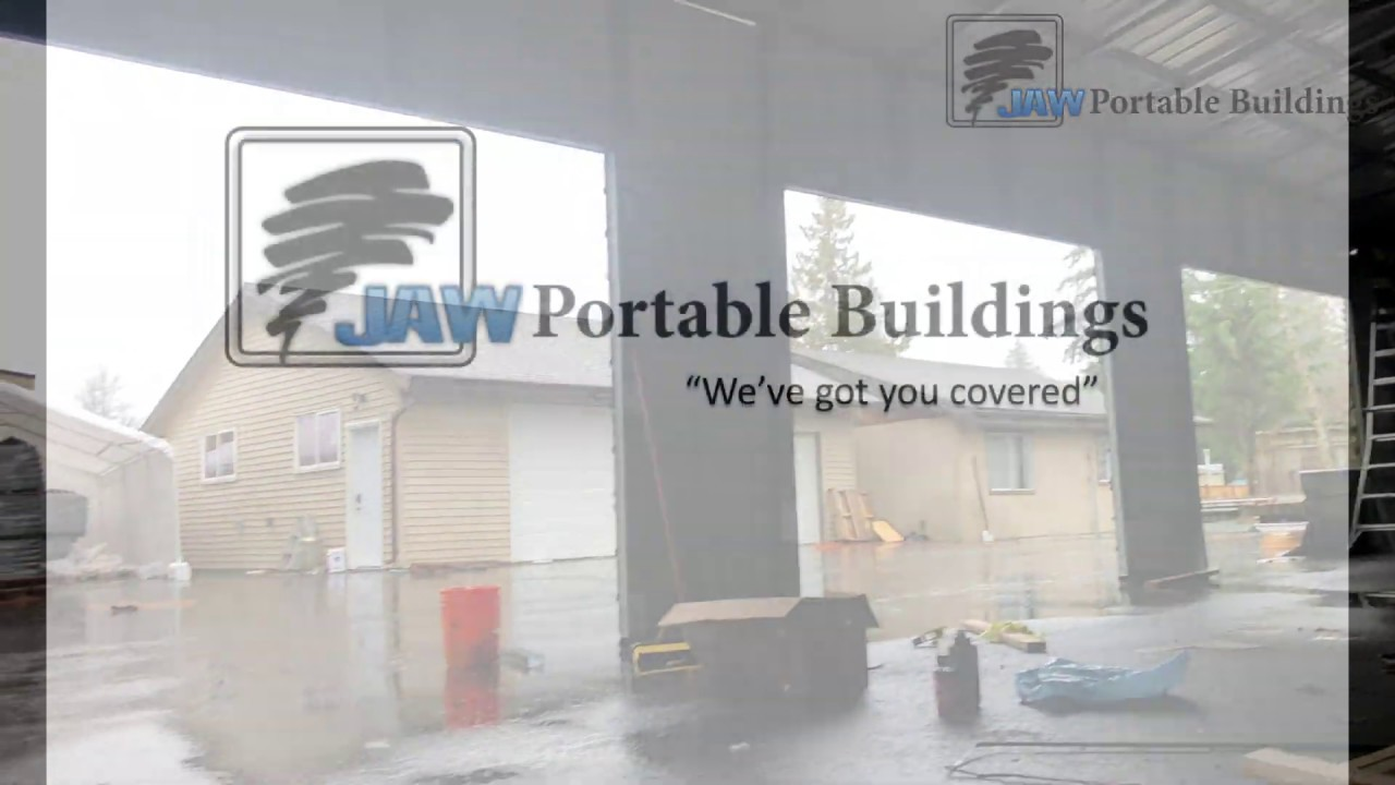 JAW Portable Buildings - YouTube