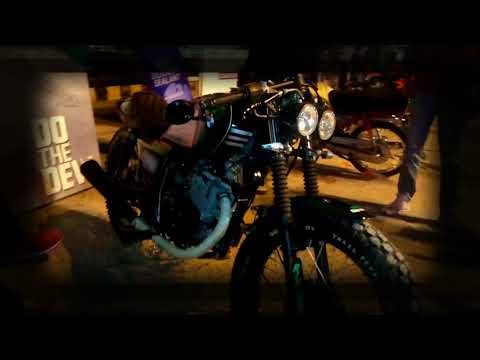 Suzuki gs 150 Cafe Racer from islamabad|Frame per second|