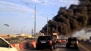 Пожар на Симферопольке, Горит рынок Автозапчастей!(Пожар жесть., 2014-05-15T19:26:48.000Z)