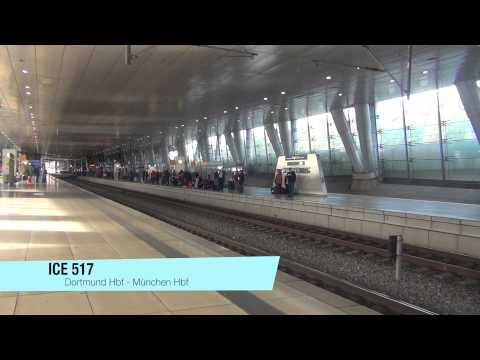 Frankfurt Flughafen Fernbahnhof am 1.11.13
