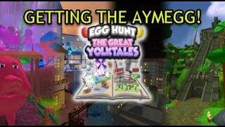 Roblox Egg Hunt 2018: How to get the Aymegg !!