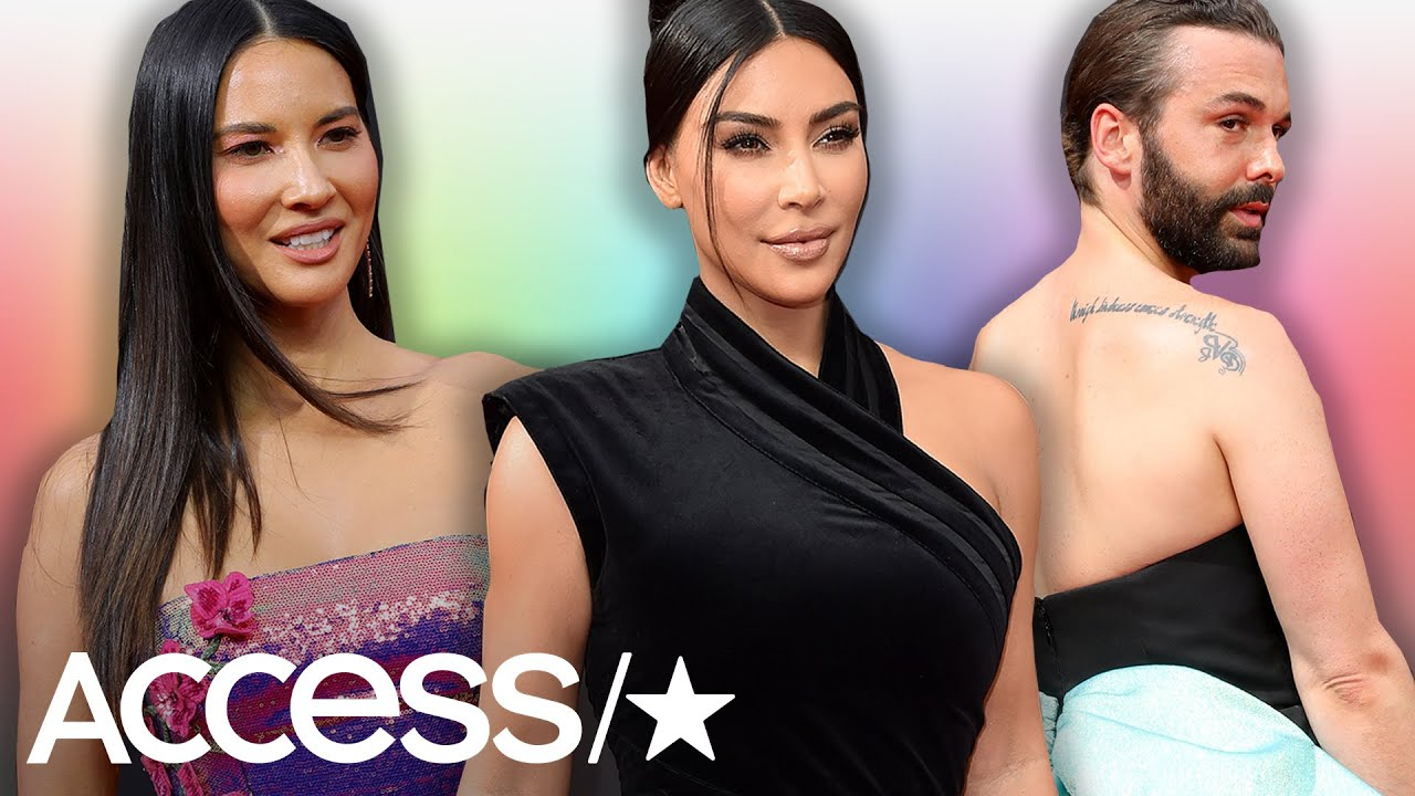 Kim Kardashian, Olivia Munn, Jonathan Van Ness And More Dazzle At 2019 Creative Arts Emmy Awards