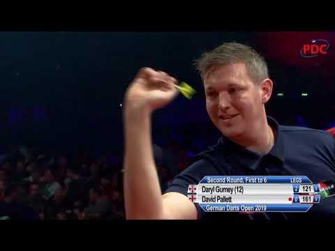 Daryl Gurney vs. David Pallett | German Darts Open 2019 | Round 2