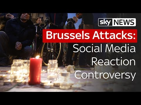 Brussels Attacks: Social Media Reaction