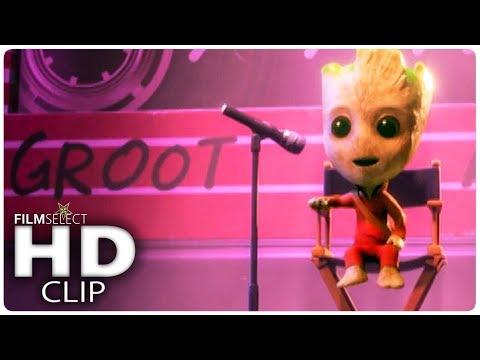 WRECK IT RALPH 2: Baby Groot Scene (2018)