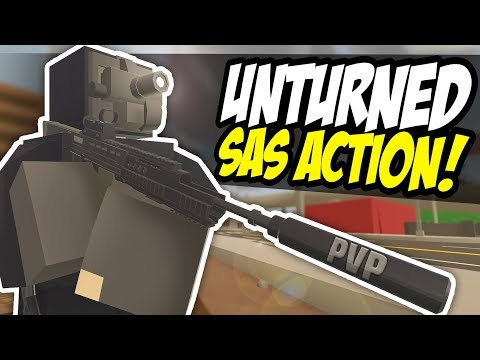 SAS ACTION - Unturned Roleplay | Clearing Up Washington!