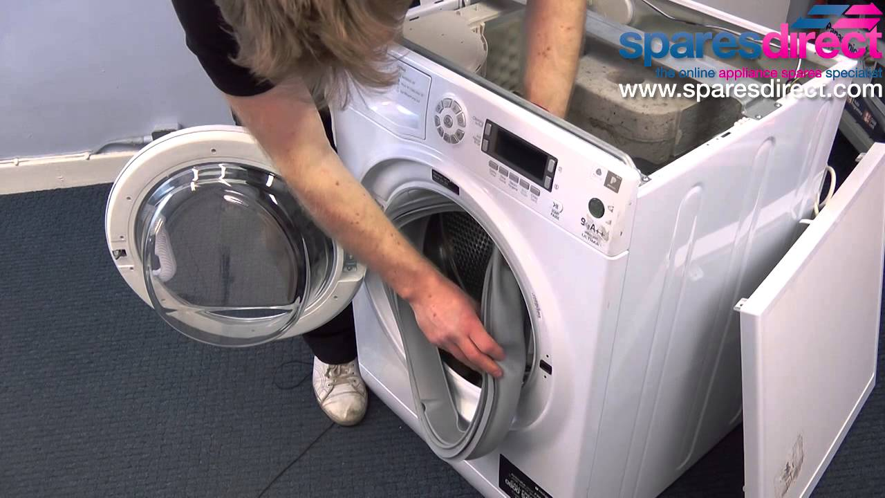 Hotpoint Washing Machine Spares how to replace a washing machine door seal | washing machine