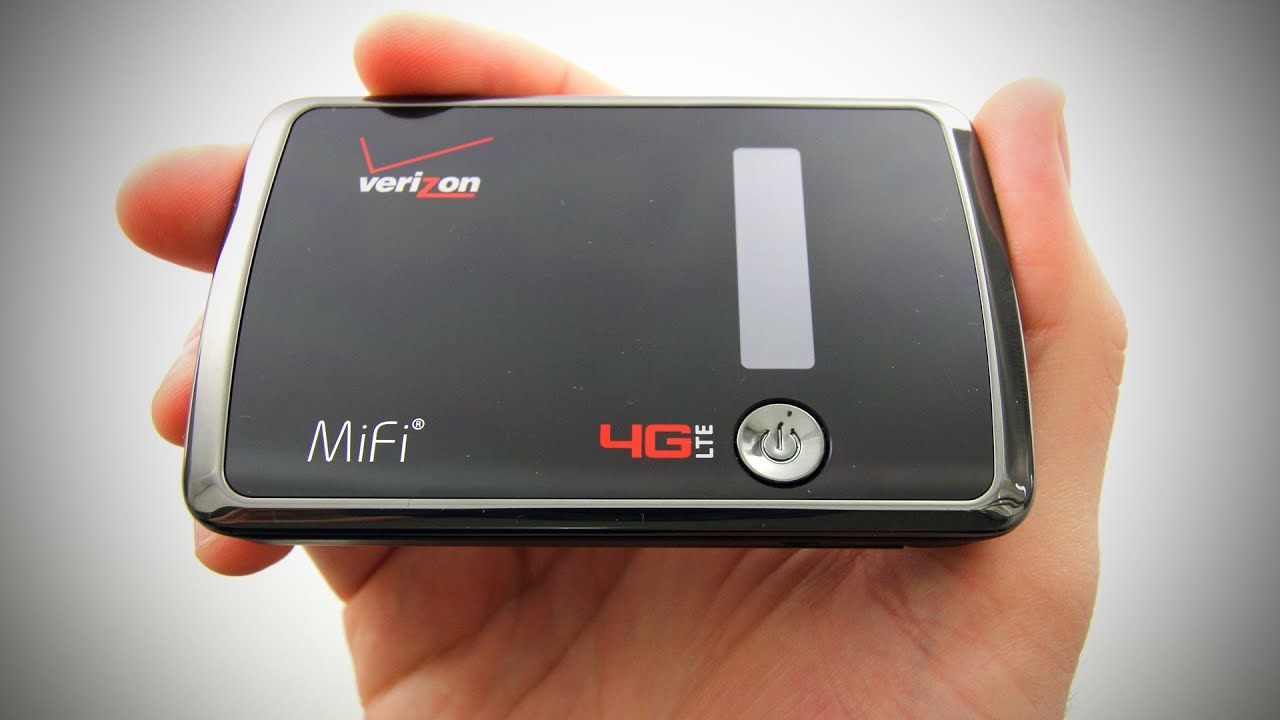 Verizon MiFi 4G LTE Unboxing