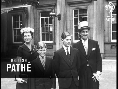 Selected Originals Len Hutton Investiture Aka Accolade For Sir Len (1956)