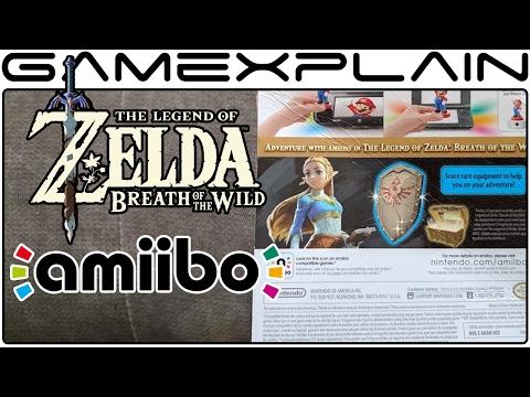 What Do the Zelda: BotW amiibo Unlock? We Inspect the Boxes! (Guardian, Zelda, Archer & Rider Link)