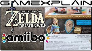 What Do the Zelda: BotW amiibo Unlock? We Inspect the Boxes! (Guardian, Zelda, Archer & Rider Link)