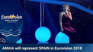 AMAIA will represent Spain in Eurovision 2018