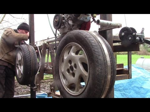 Interesting Things I Learned Building My Car-Wheel Bandsaw Mill.