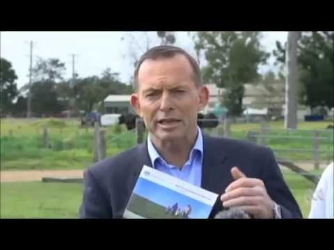 Liverpool Plains: Tony Abbott Says Shenhua Coal Mine Not On Prime Agriculture Land