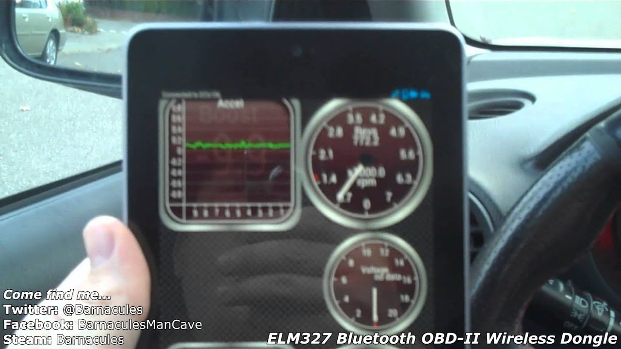 Review of Bluetooth OBD2 Wireless Transceiver Diagnostic Dongle