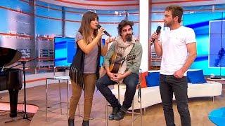 """Pablo Alborán y Vanessa Martín cantan """"Perdóname"""""""