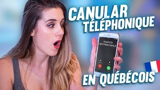 PRANK CALL FRENCH PEOPLE IN FRENCH CANADIAN ACCENT *and I find love* | DENYZEE