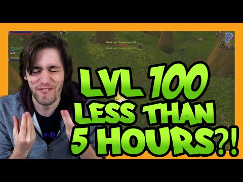 LVL 100 IN LESS THAN 5 HOURS?!