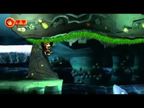 Donkey Kong Country Returns World 2 7 Tidal Terror Youtube