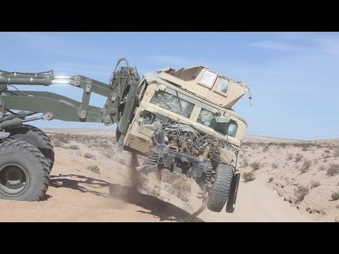 Marines Junk Obsolete Humvees