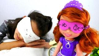 Повязка для сна своими руками. Видео про куклы