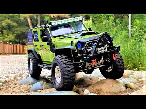RC Car SCX10 II(FreeMan)Jeep Wrangler Forest Park Ride