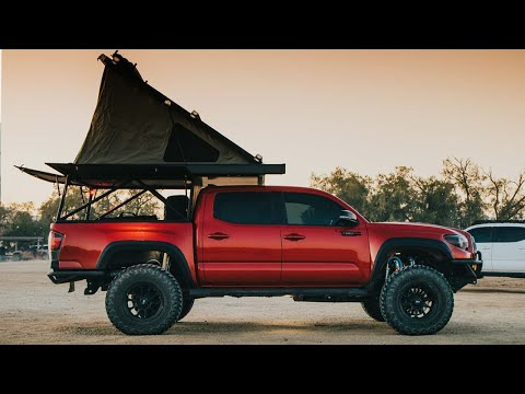 Go Fast Camper Adventure Toyota Tacoma | Mini Movie | Ocotillo Wells California