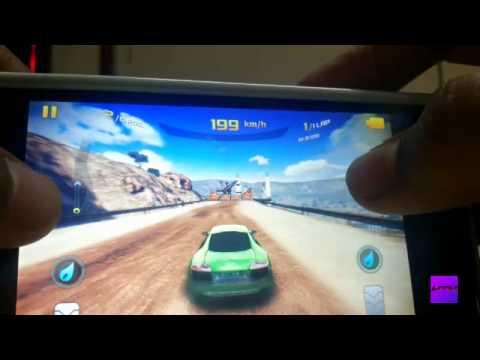 Sony Xperia L Asphalt 8 Gameplay High Settings