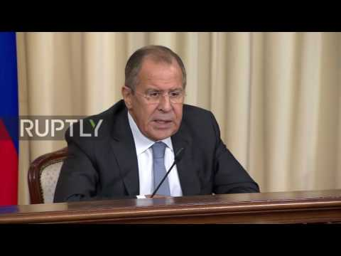 """Russia: US-led coalition works against IS in Syria """"quite moderately"""" - Lavrov"""