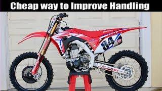 BEST Upgrade to Improve Your Dirt Bike's Handling!