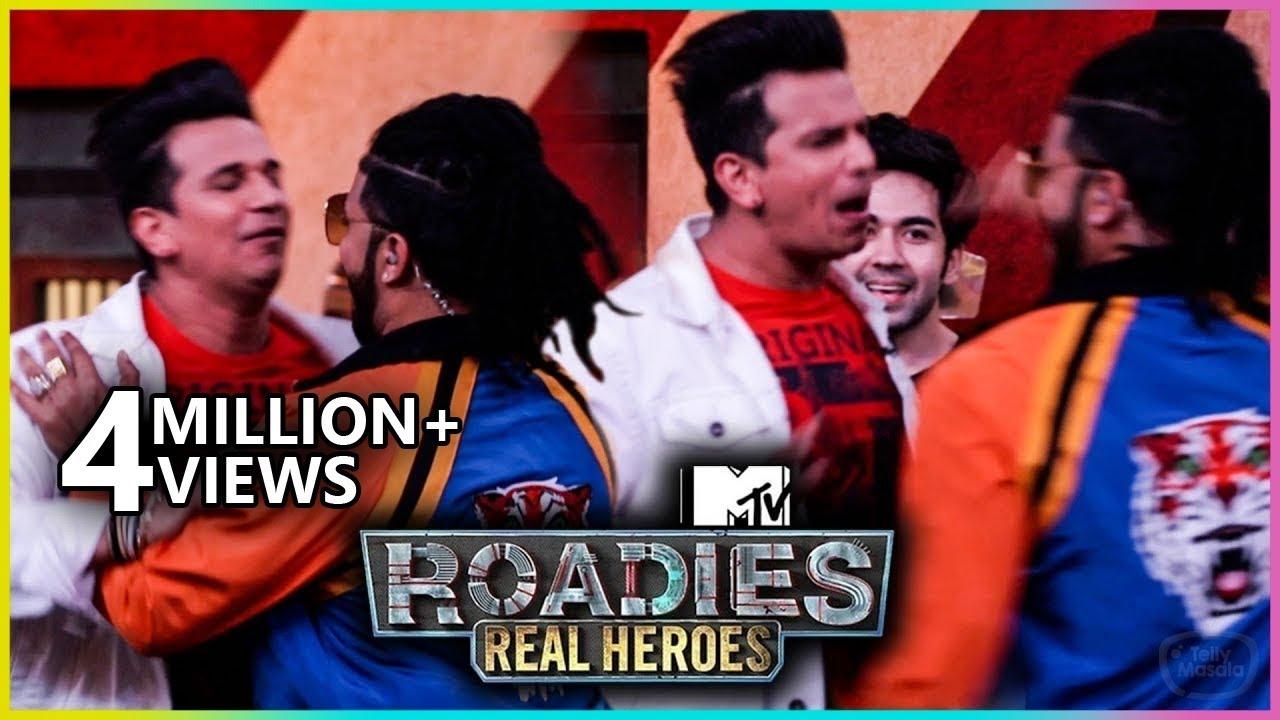 Download Prince Narula and Raftaar UGLY Fight   MTV Roadies Real Heroes