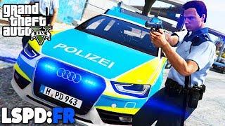 GTA 5 LSPD:FR - Action pur! - Deutsch - Polizei Mod #56 Grand Theft Auto V