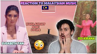 Download lagu Reaction to MALAYSIAN MUSIC (M-Pop): ZIZI KIRANA & Elizabeth Tan & Kaka Azraff, Noki, Loca B