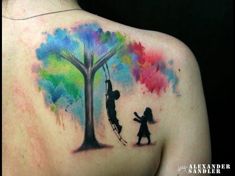 Tatuajes De Arboles Y Su Significado Youtube