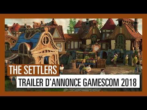 The Settlers - Trailer d'annonce Gamescom 2018 [OFFICIEL] VOSTFR HD