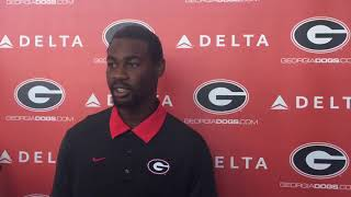 Terry Godwin on Smart' praise of him during fall camp - Aug. 24