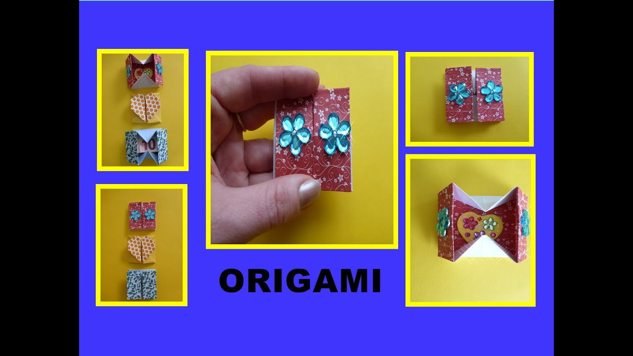 Box Origami Schachtel Anleitung Pdf Origami Box Instructions Pdf Jadwal Bus Many Origami Models Also Have Videos You Can Watch Watch Collection