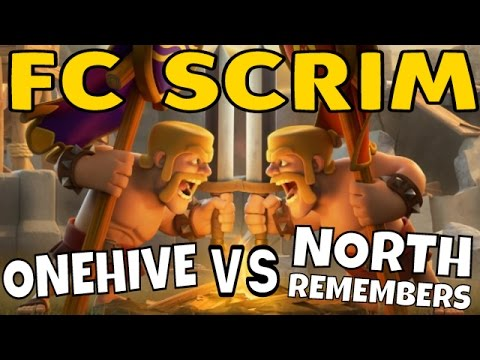 OneHive VS North Remembers : FC SCRIM Recap :: Clash Of Clans